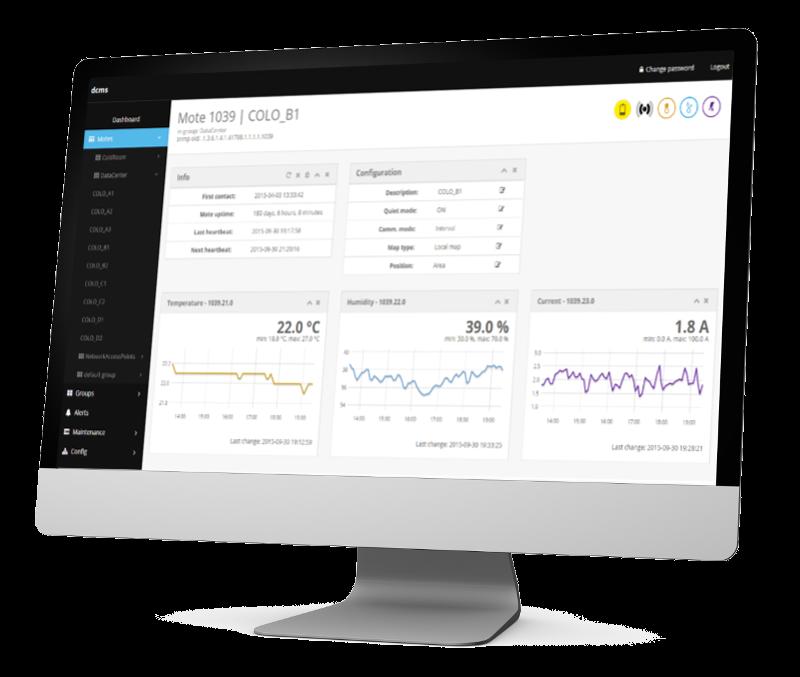 systemONE screenshot sensor configure
