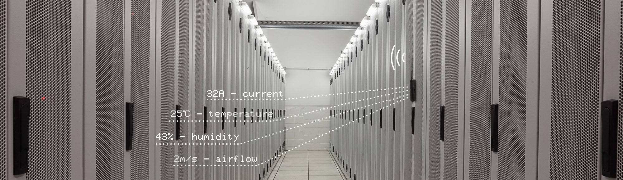 smart sensor datacenter banner