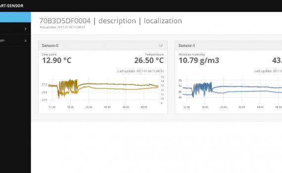 SMART sensor screenshot